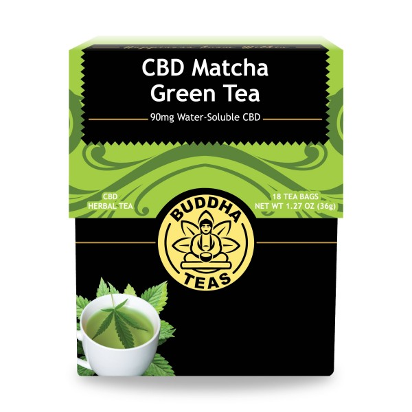 CBD Matcha Green Tea - 1 Box